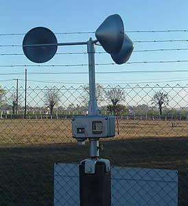 Casilla Meteorológica ENA (anemómetro)