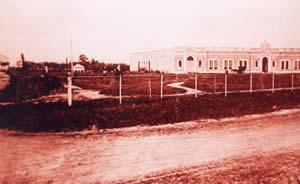 Hotel de los Inmigrantes en sus primeros años